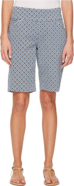 Ainsley Tile Pull-On Bermuda Classic Fit Print