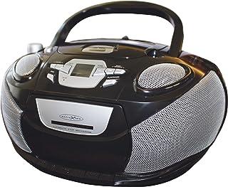 Reflexion RCR 4652 Radiorekorder mit MP3/CD Player und 4x Lautsprecher schwarz