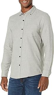 Goodthreads Men's Slim-Fit Long-Sleeve Brushed Heather Shirt