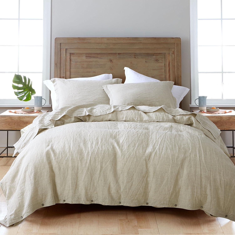 Manufacturer regenerated product 3 Pieces Max 54% OFF Lot Linen Duvet Cover Bedding Set 100% Sets Pure