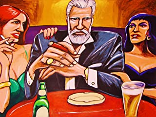 THE MOST INTERESTING MAN IN THE WORLD PRINT POSTER man cave TV commercial cigar beer dos equis cohiba cuban