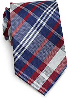 Bows-N-Ties Men's Necktie Contemporary Tartan Plaid Silk Satin Tie 3 Inches