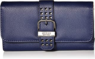 GUESS womens Eileen Midnight Multi Clutch Wallet