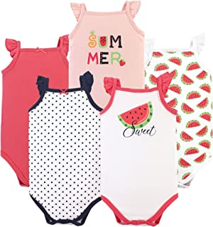 Unisex Baby Cotton Sleeveless Bodysuits