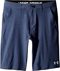 Under Armour Kids Striated Shorts (Big Kids)