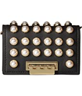 ZAC Zac Posen Earthette Card Case with Chain - Pearl Lady