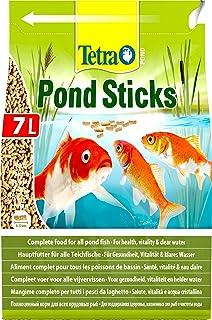 Tetra Pond Sticks 7 L - Alimento para peces de estanque, para peces sanos y agua clara, diferentes tamaños