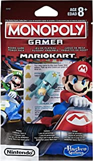 MONOPOLY E0762EY2 Gamer Mario Kart Power Pack, Multicolour, Norme