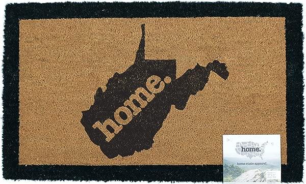 Home State Apparel West Virginia Home Coir Door Mat