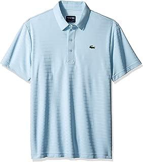 Lacoste Men's Sport Short Sleeve Golf Ultra Dry Tech Jersey Polo
