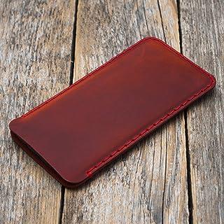 Funda de Cuero Case para el Galaxy S10+, S9+ - rojo