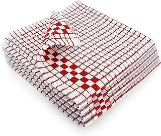 Fecido - Paños de cocina clásicos, resistentes, muy absorbentes,100% algodón, calidad profesional, hechos en Europa