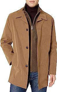 London Fog Men's Berne Micro Twill All Weather Coat Raincoat
