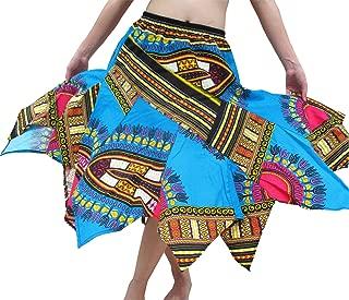Brand Wild Angle Cut African Boubou Afrika Dashiki Art Dance Skirt