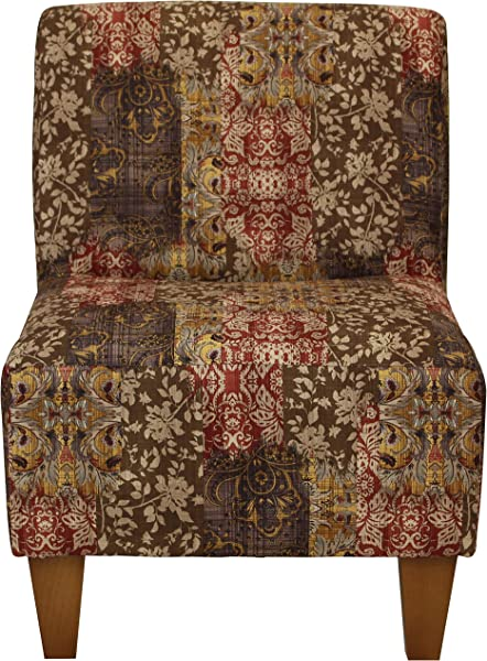 Parker Lane Uch Amanda Ak4 Armless Slipper Chair Toffee