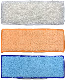 Washable Mopping Pads for iRobot Braava Jet 240 241 Mopping Robot, 1 Wet Mopping Pad + 1 Damp Sweeping Pad + 1 Dry Sweeping Pad (3 pcs)