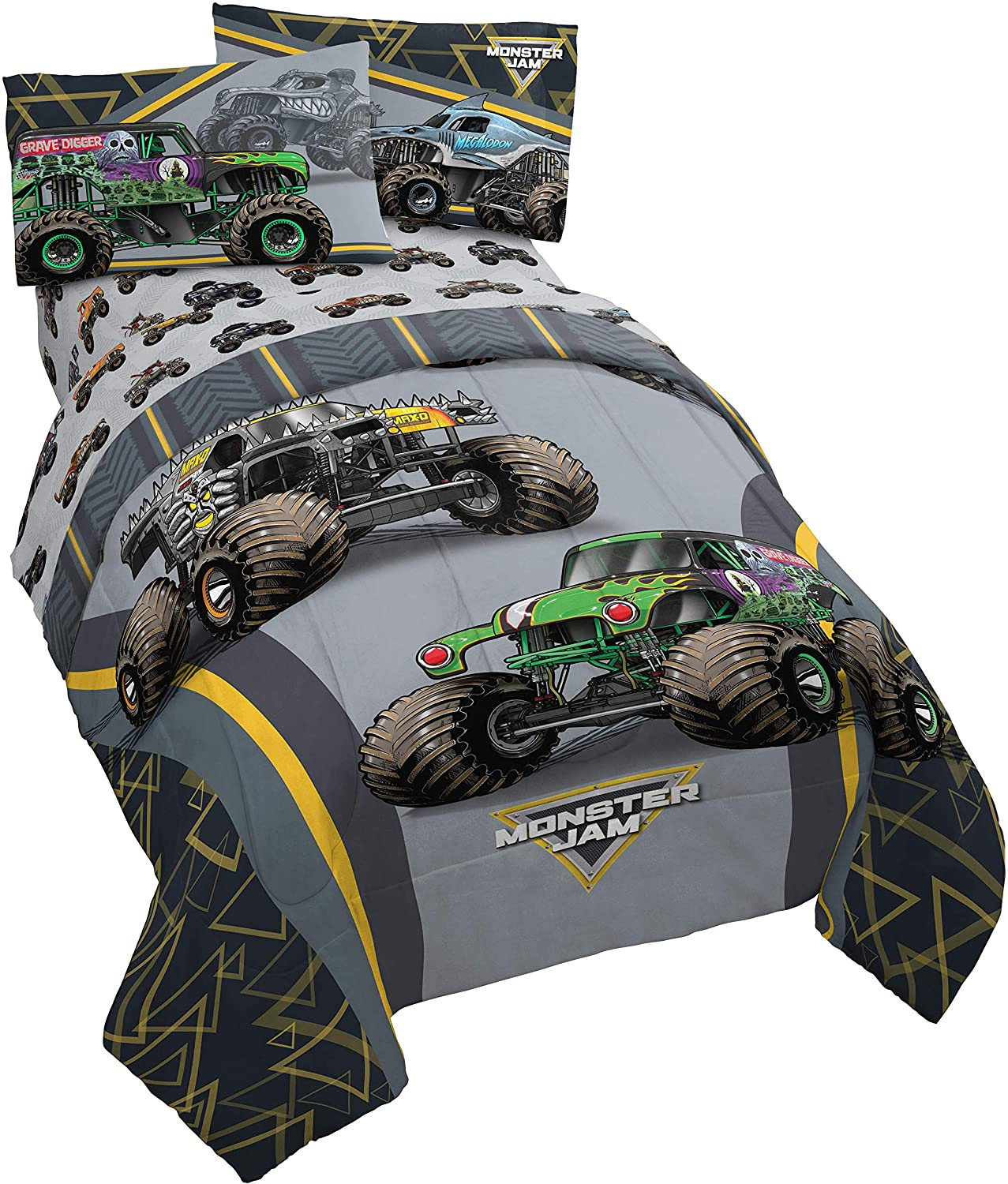 Monster Superior Jam MJ Life 4 Piece Twin - Includes shipfree Bed Reversible C Set