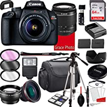 $329 » Canon EOS Rebel T100 DSLR Camera with 18-55mm f/3.5-5.6 Zoom Lens, 64GB Memory,Case, Tripod and More (28pc Bundle)