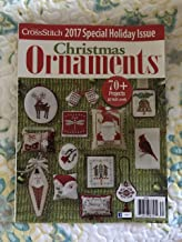 2017 Just Cross Stitch Holiday Christmas Ornaments Special Interest Publication Magazine