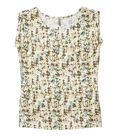 Royal Robbins Noe Print Short Sleeve Shirt II (Soapstone) Women