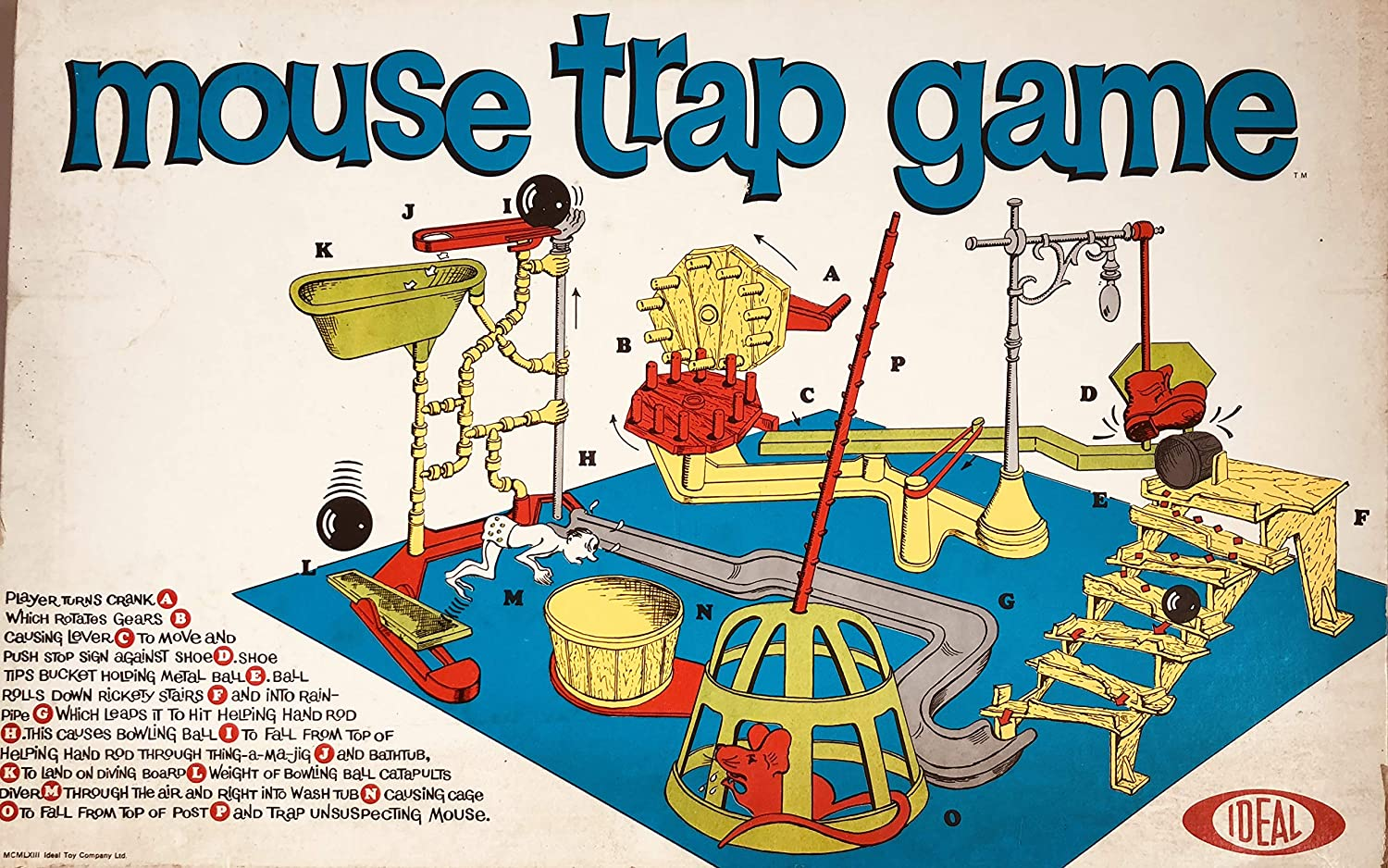 Mouse trap Game First Edition