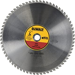 DEWALT 14-Inch Metal Cutting Blade, Ferrous Metal Cutting, 66-Tooth (DWA7747)
