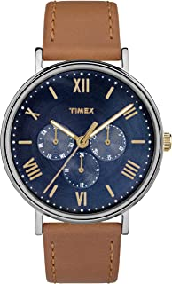 Timex Southview 41mm Multifunction Leather Strap Watch