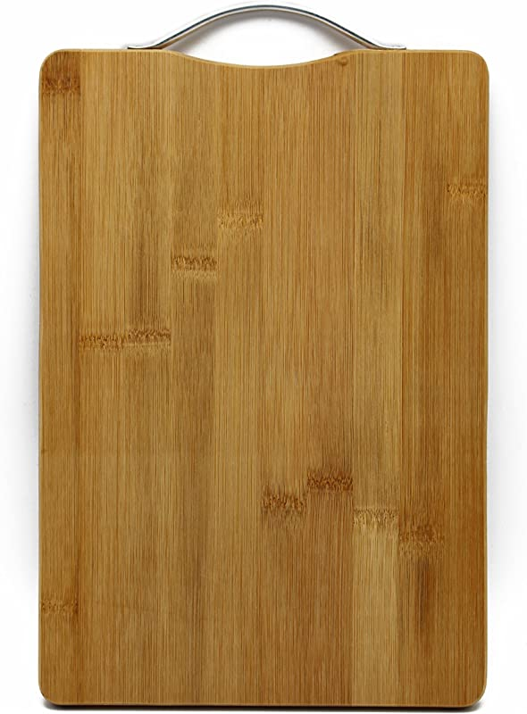 Sahe Products Chopping Board Wooden And Sturdy Chopping Block 22cm X 32cm X 1 8cm