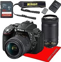 Nikon D5300 w/AF-P DX NIKKOR 18-55mm f/3.5-5.6G VR & AF-P DX NIKKOR 70-300mm f/4.5-6.3G ED+ 32GB Memory Bundle