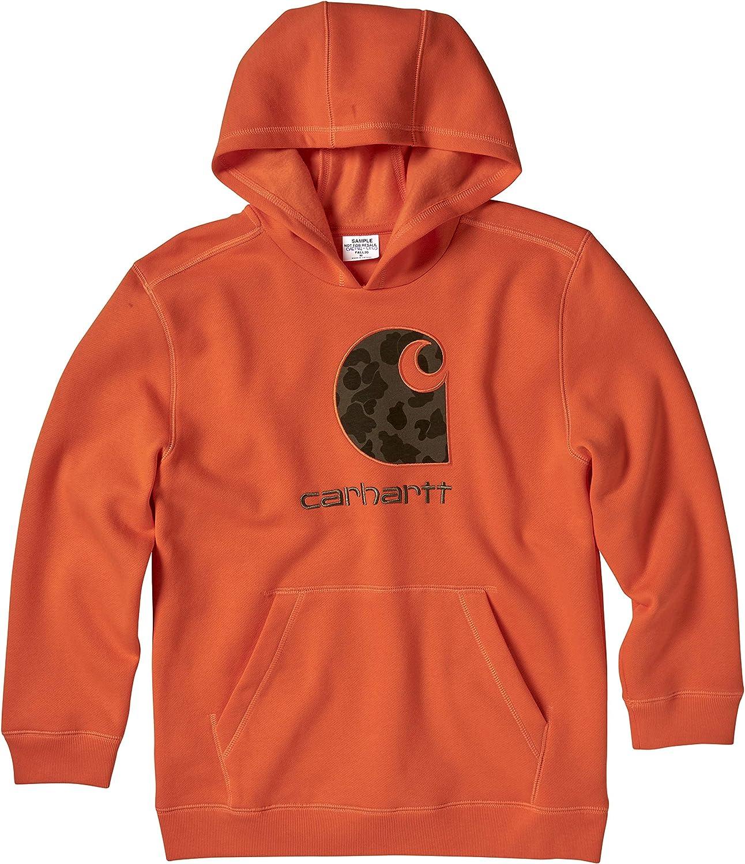 Carhartt Boys' Hooded Fleece Pullover Sweatshirt