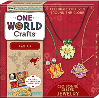 RoseArt One World Crafts Asia Cloisonné Glazed Jewelry