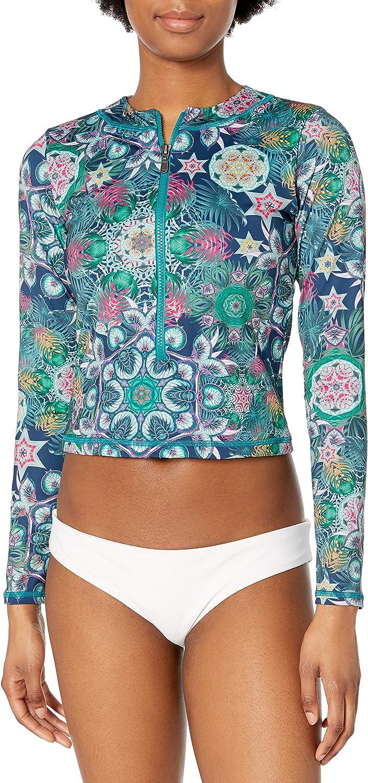 OndadeMar Women's Ponde Rashguard Bikini Top