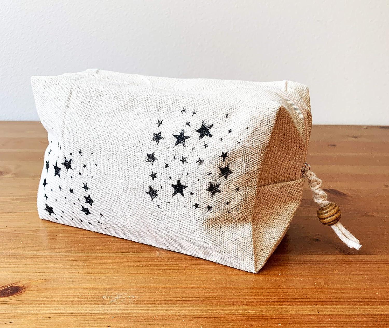 Austin Mall Canvas Max 76% OFF Cube Pouch Stars -