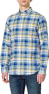 GANT Men's D2.REG Preppy OXF Plaid BD Shirt