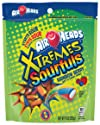 AirHeads Xtremes Sourfuls Resealable Stand Up Bag, Rainbow Berry, Party, Halloween Candy, 9 Ounce