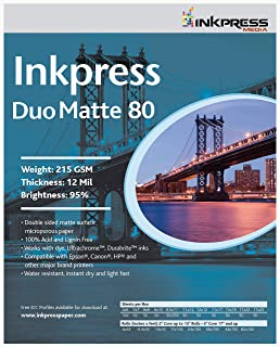 INKPRESS MEDIA 215 GSM,12 Mil,5x7