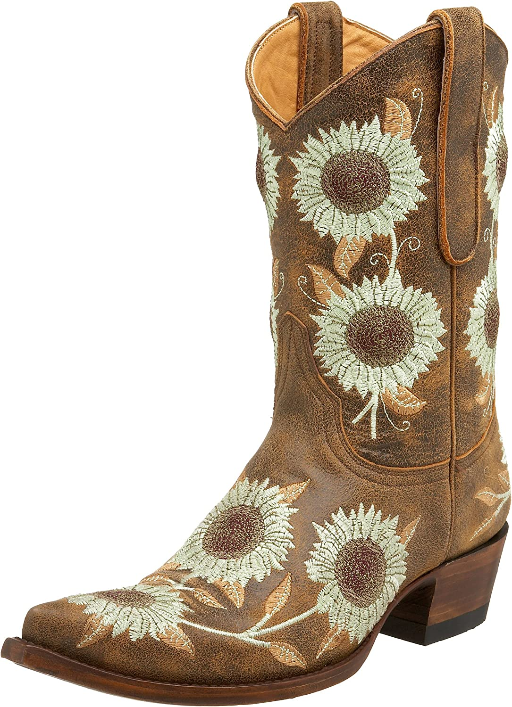 Old online shopping Gringo Women's L146-4 Ranking TOP2 Cowboy Girasoles Boot