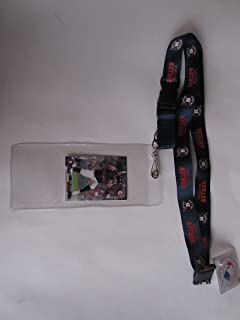 HOUSTON ASTROS LANYARD WITH TICKET HOLDER PLUS COLLECTIBLE PLAYER CARD
