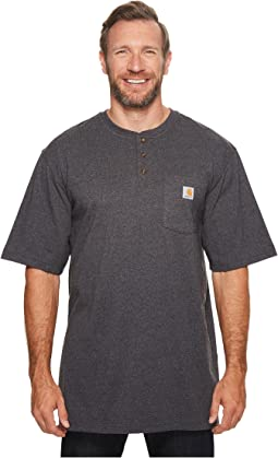 Big & Tall Workwear Pocket S/S Henley