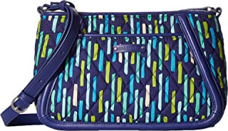 Vera Bradley Women's Trimmed Trapeze Crossbody Katalina Showers One Size