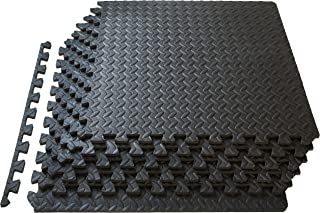 ProsourceFit Puzzle Exercise Mat, EVA Foam Interlocking Tiles, Protective Flooring for..