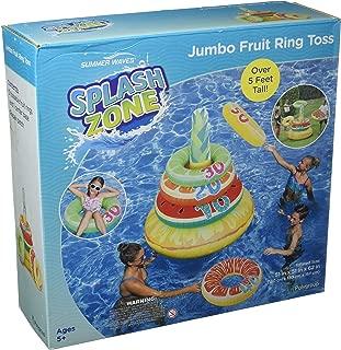 SUMMER WAVES Jumbo Ring Toss - Donut Toss
