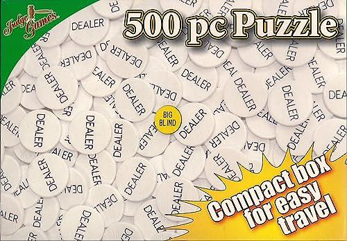 moda clasica Judge Games Big Blind 500 Piece Puzzle Puzzle Puzzle from  mejor vendido