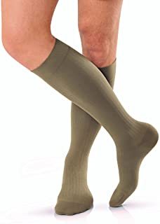 JOBST for Men Knee High Closed Toe Compression Stockings, Extra Firm Legware for All Day Comfort for Males, Compression Cl...