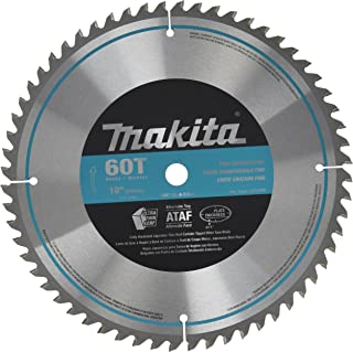 Makita A-93675 10-Inch 60 Tooth Micro Polished Mitersaw Blade