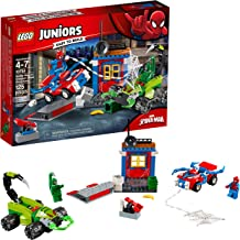 LEGO Juniors/4+ Marvel Super Heroes Spider-Man vs. Scorpion Street Showdown 10754 Building Kit (125 Pieces)