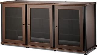 Salamander Designs SB337W/B Synergy Triple A/V Cabinet with Three Doors
