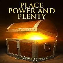 power and plenty audiobook