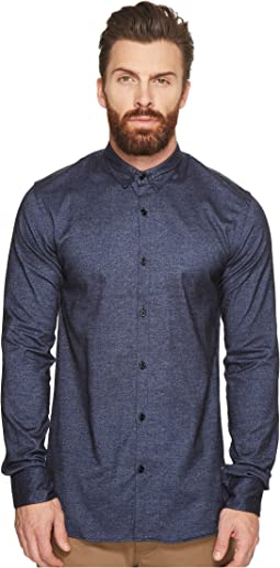 Scotch & Soda - Classic Shirt in Brushed Cotton Oxford Quality