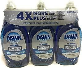 Dawn Dish Soap, Ultra Platinum Advanced Power 4X More (24 Fl. OZ x 3)